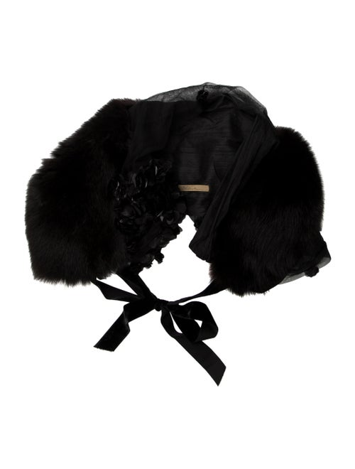 Fox Fur Stole Brown