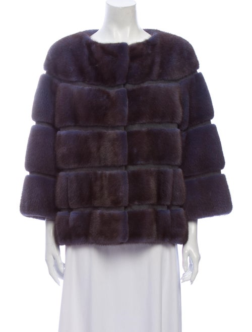 Fur Fur Jacket Blue