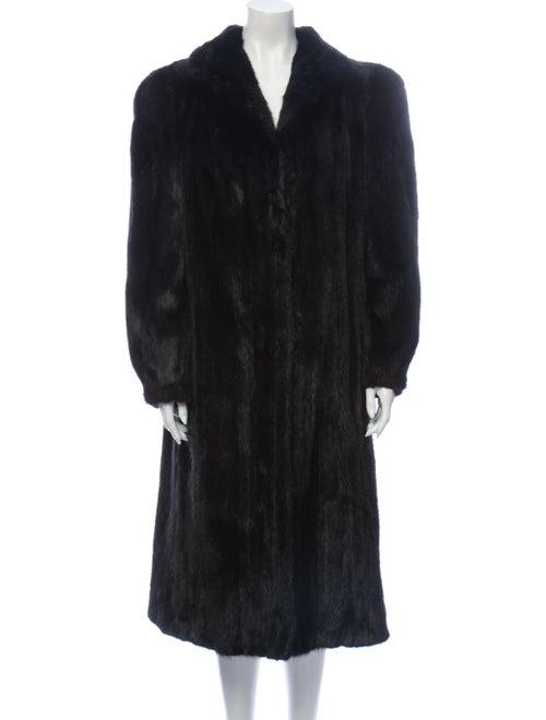 Fur Fur Coat Fur Coat Brown