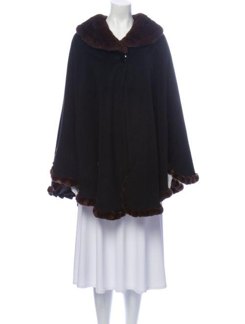 Fur Coat Black