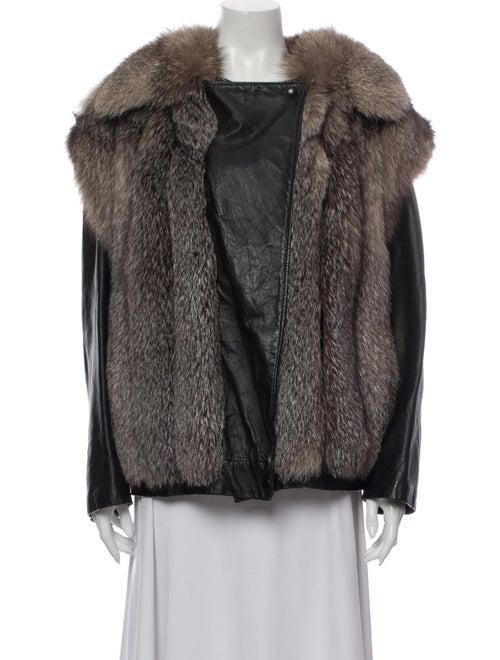Fur Fur Jacket Grey