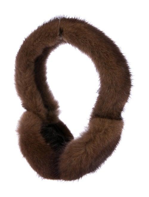 Fur Ear Muffs Brown