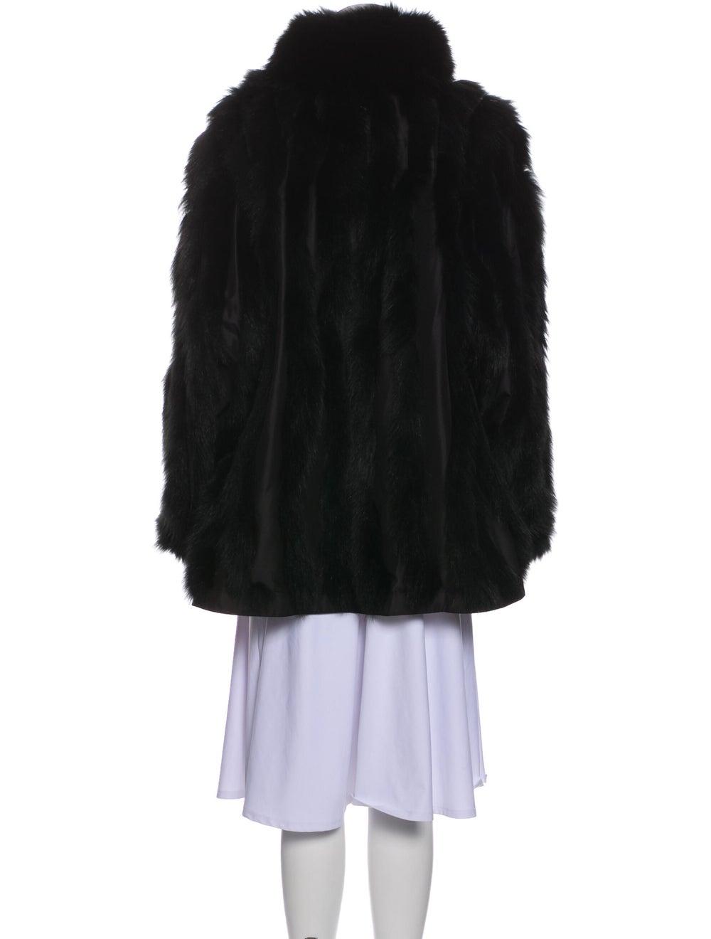 Fur Coat Black - image 3