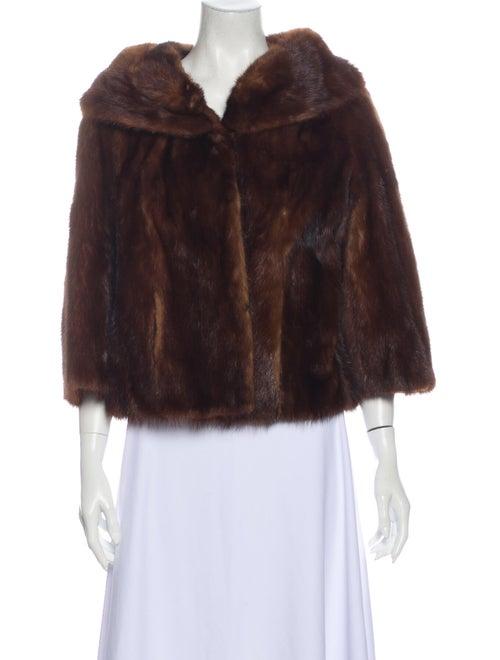 Fur Fur Jacket Brown