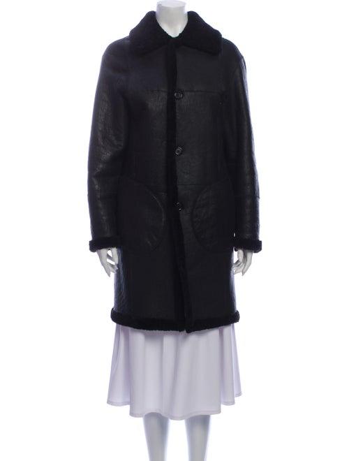 Fur Faux Fur Coat Black