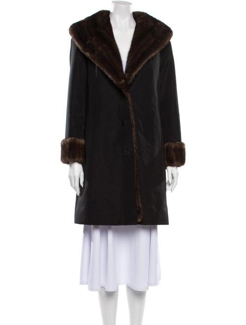 Fur Coat Black - image 1