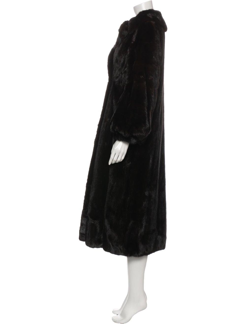 Fur Fur Coat Brown - image 2
