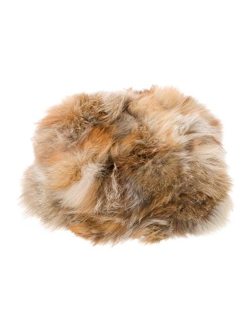 Faux Fur Hat Brown