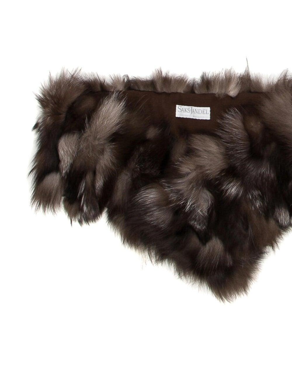 Fox Fur Stole - image 2