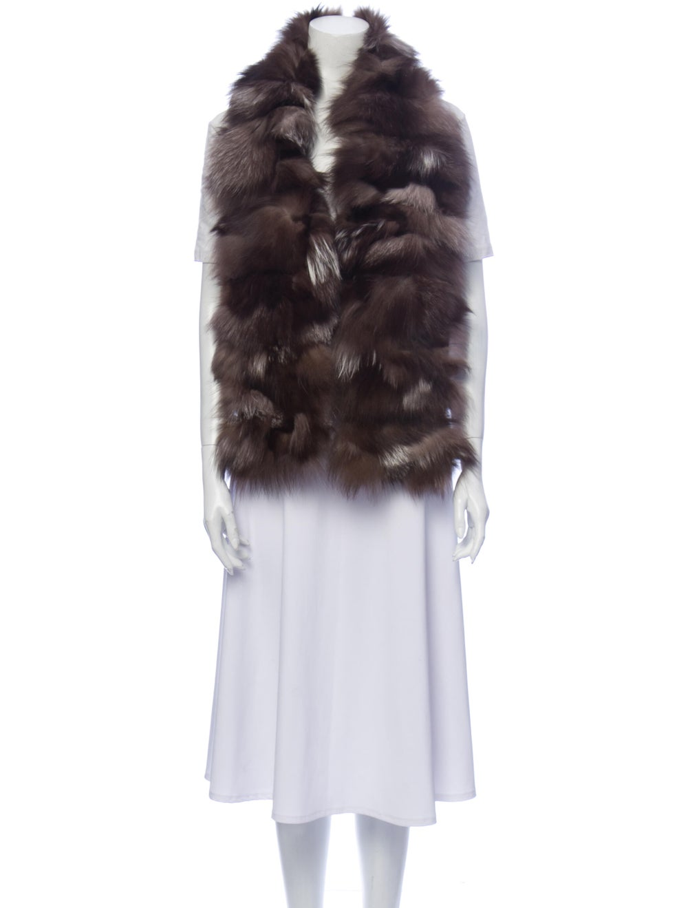 Fox Fur Stole - image 3