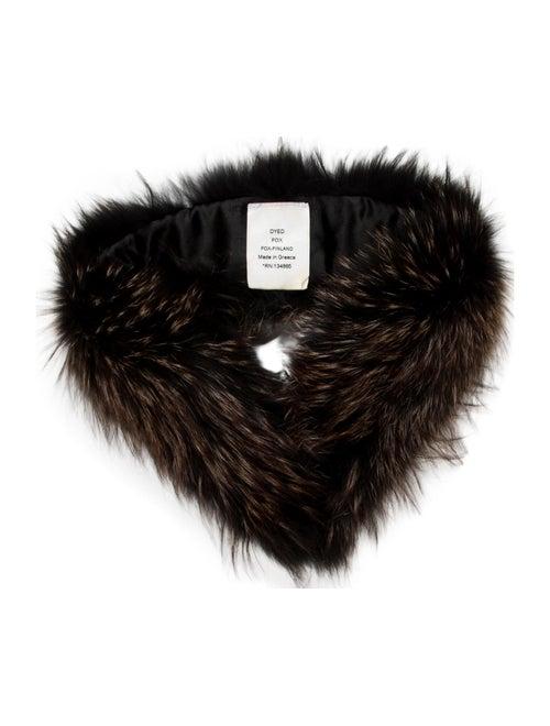 Fur Stole Black - image 1