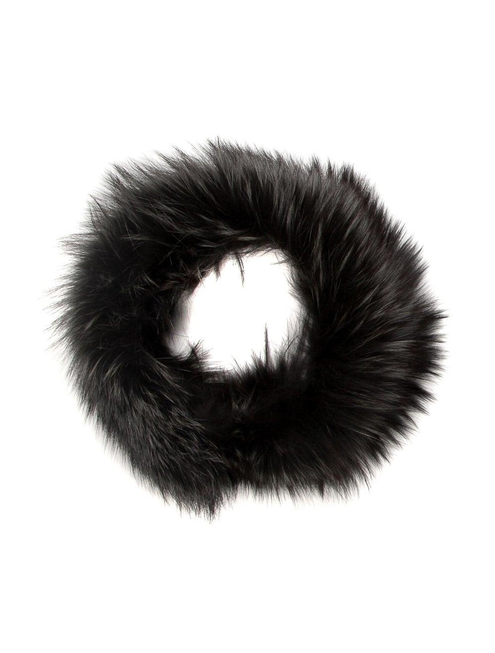 Fur Fur Stole Grey - image 1