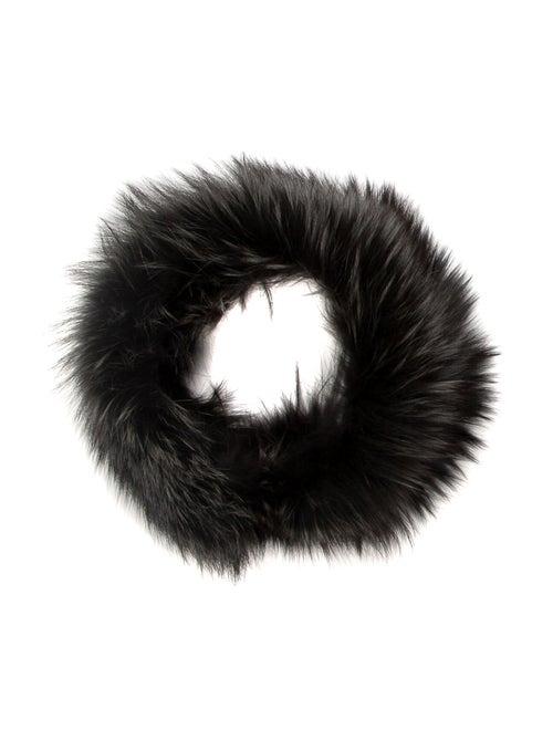 Fur Fur Stole Grey