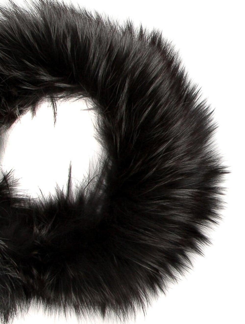 Fur Fur Stole Grey - image 2