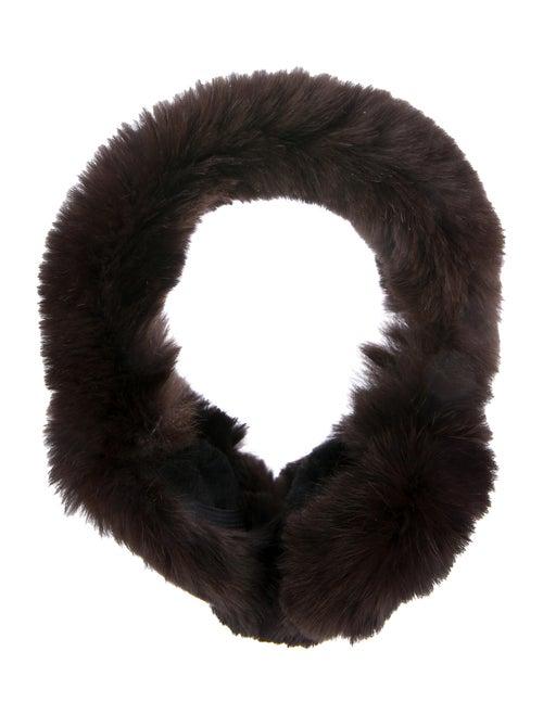 Fur Rabbit Earmuffs Brown