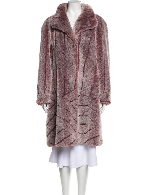 Fur Vintage Faux Fur Coat Faux Fur Coat Purple
