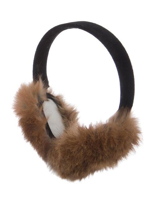 Fur Earmuffs Black