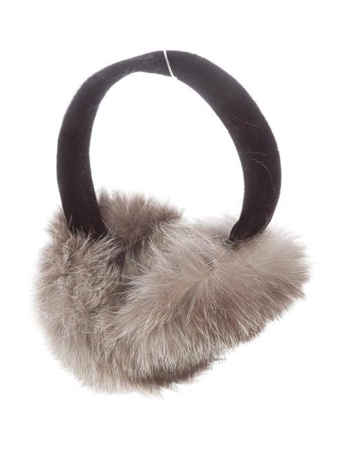 Fur Earmuffs Tan