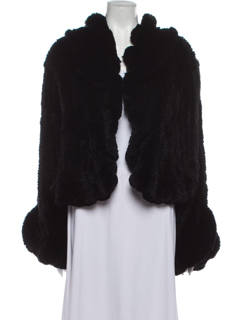 Fur Fur Jacket Black