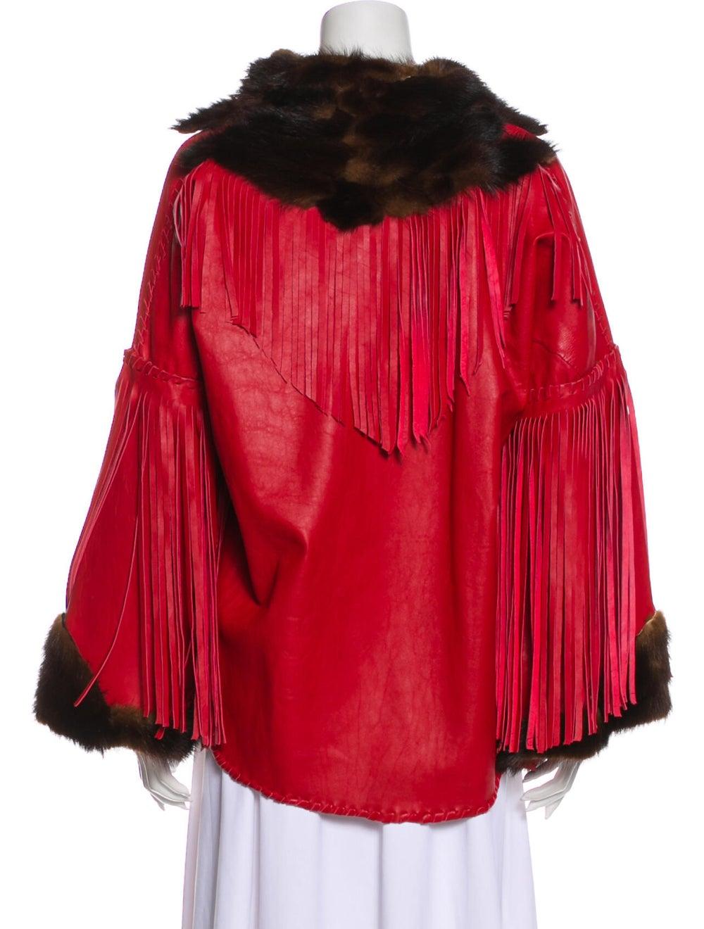 Fur Cape Red - image 3