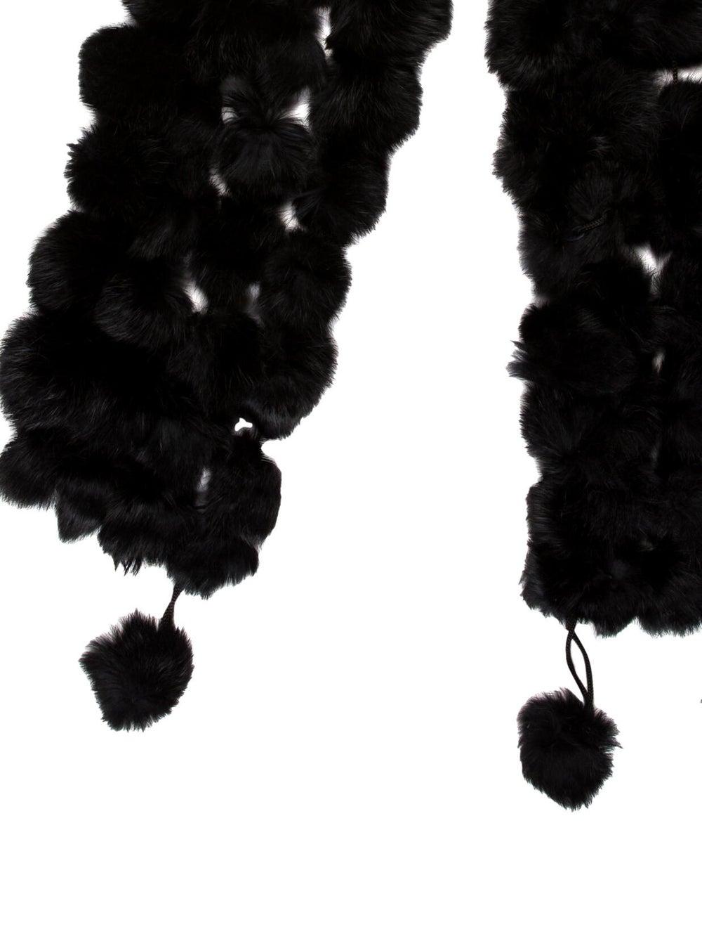 Fur Fur Stole Black - image 2