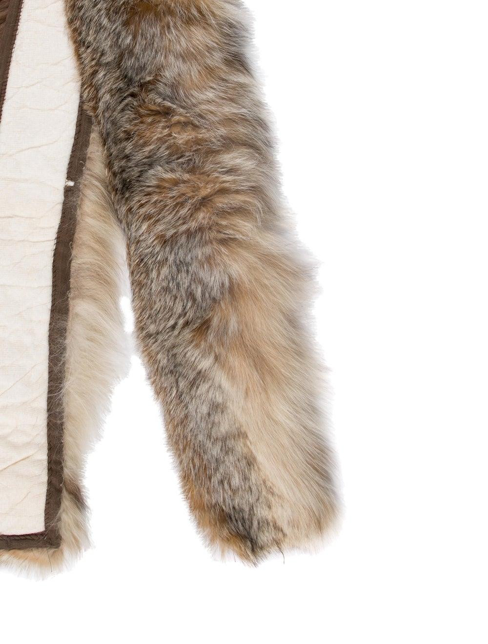 Fur Coyote Stole - image 2