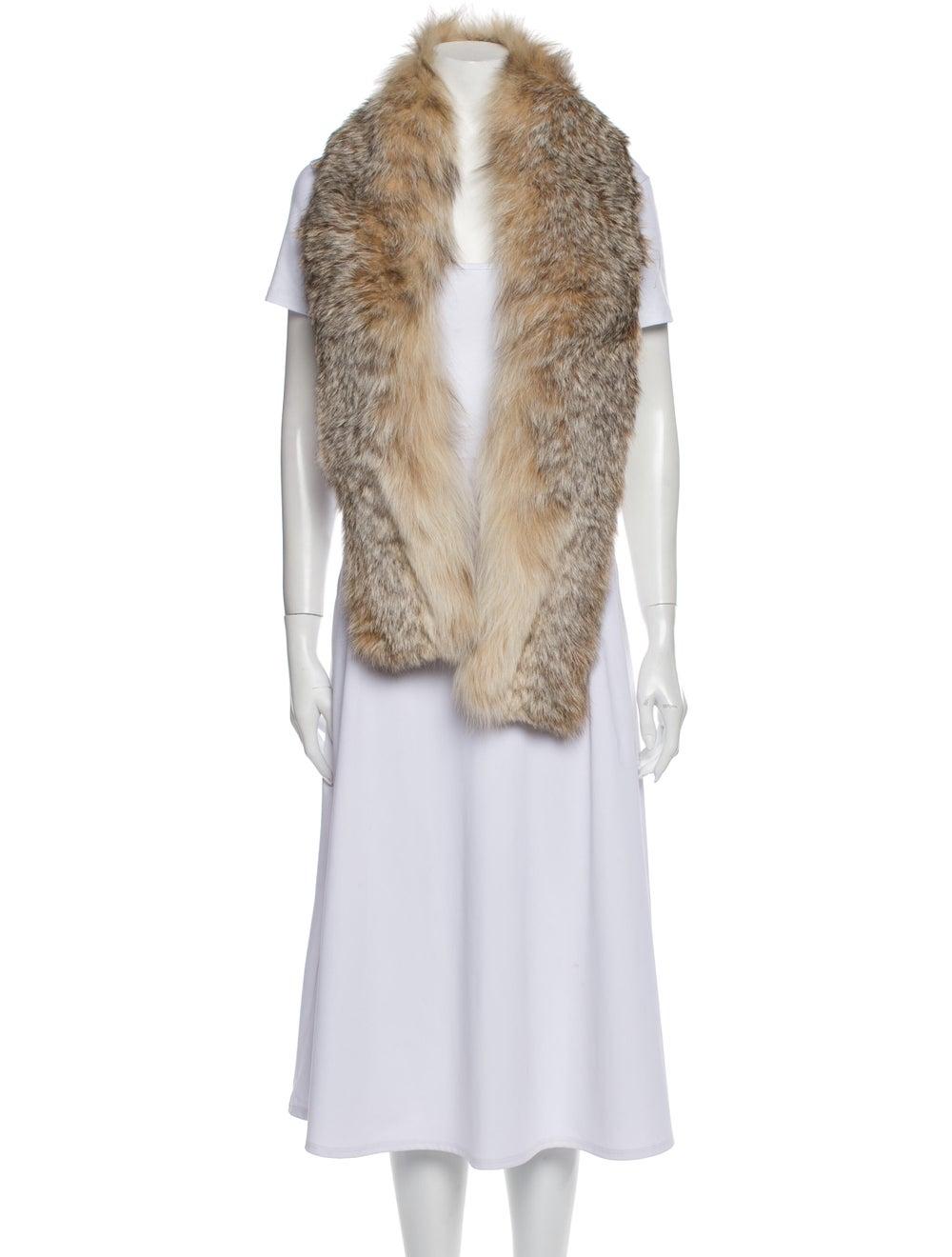 Fur Coyote Stole - image 3
