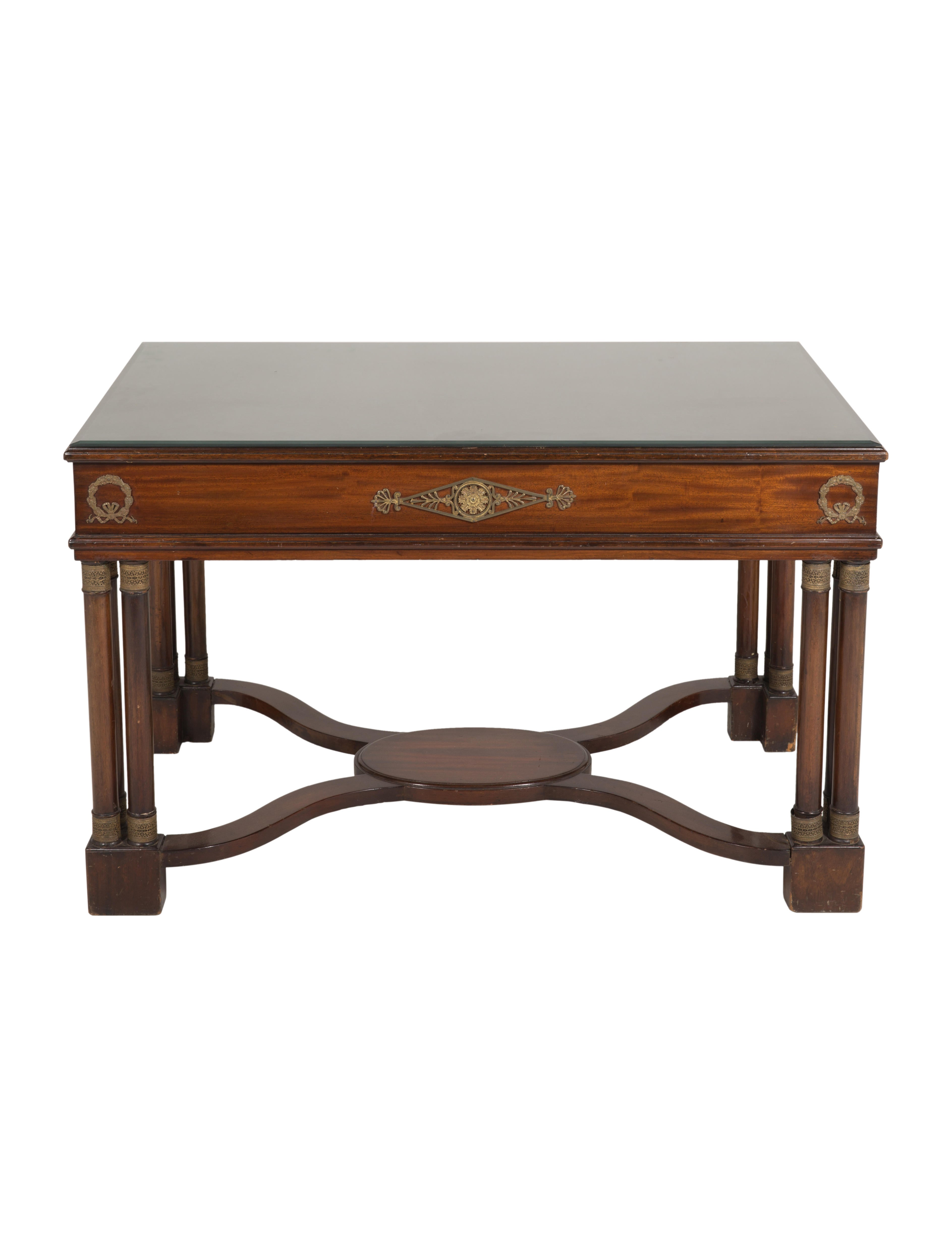 Furniture french 19th century mahogany desk furniture for French furniture