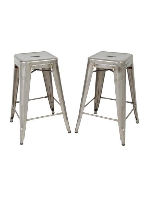 Wondrous Furniture Tolix Marais Counter Stools Furniture Squirreltailoven Fun Painted Chair Ideas Images Squirreltailovenorg