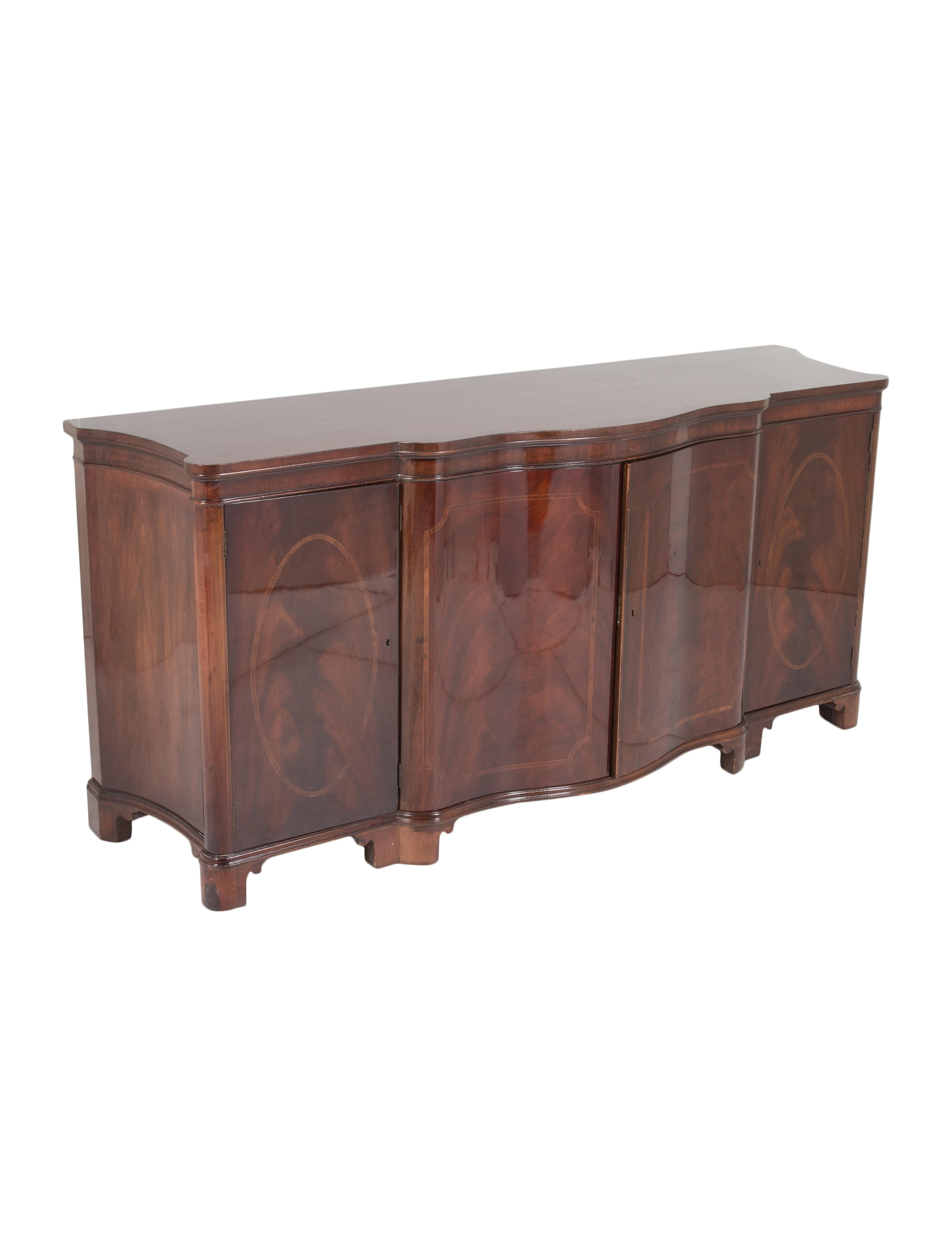 Baker mahogany sideboard furniture furni20447 the for Baker furniture