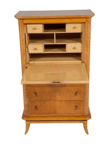 French Maple Secretary Desk Furniture Furni20617 The