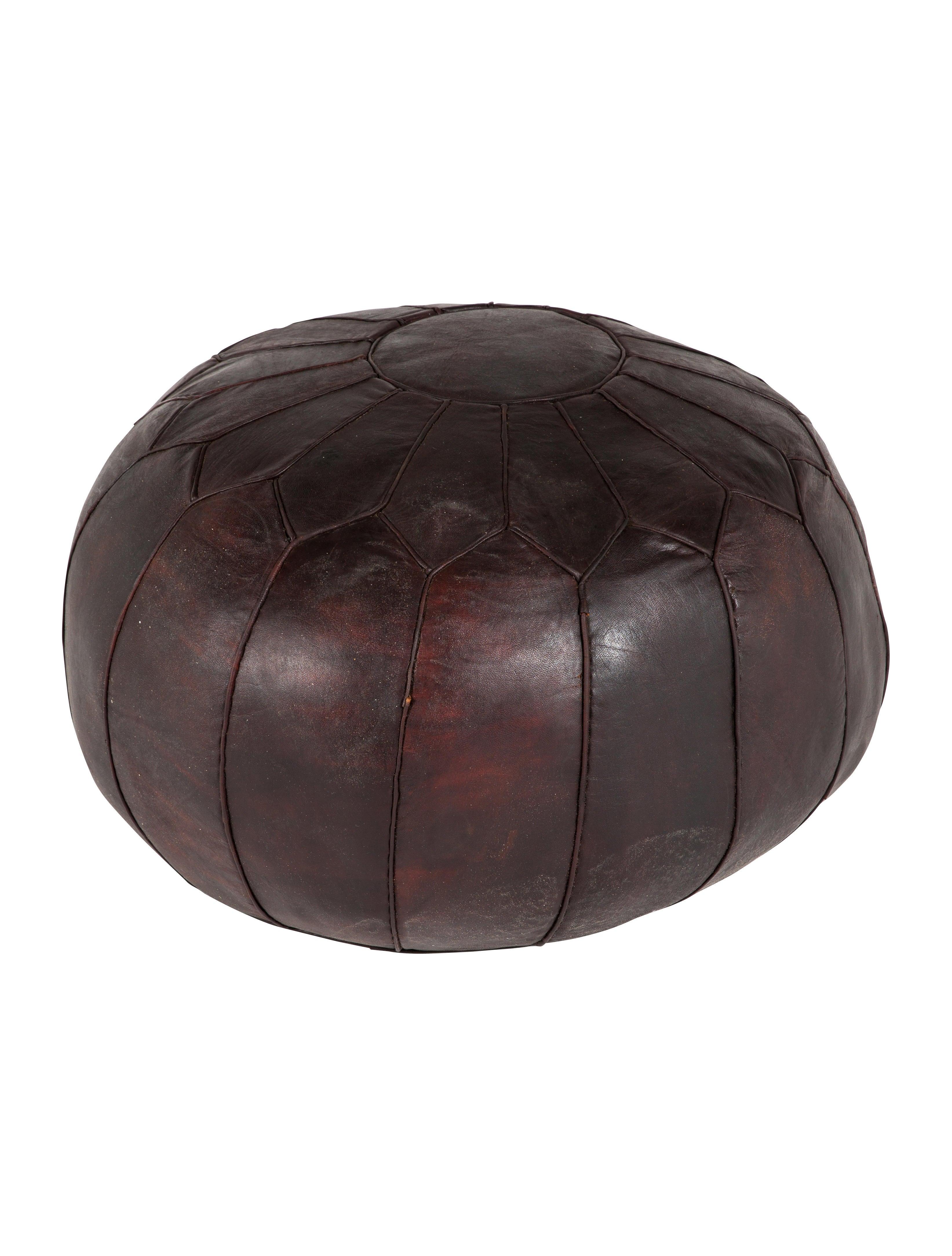 soukie modern moroccan leather pouf furniture furni20750 the realreal
