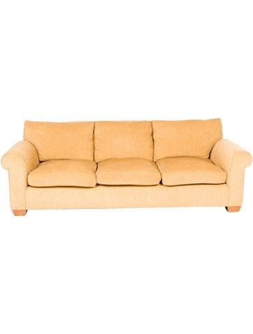 Stoich Custom Chenille Sofa None