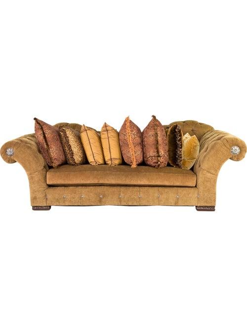 Furniture Marge Carson Tufted Sofa