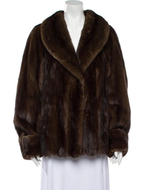 Galanos Fur Jacket Brown