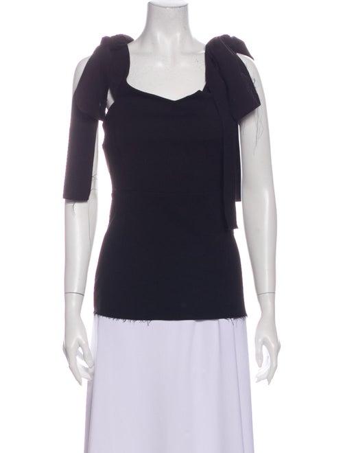 Georgia Alice Square Neckline Short Sleeve Top w/