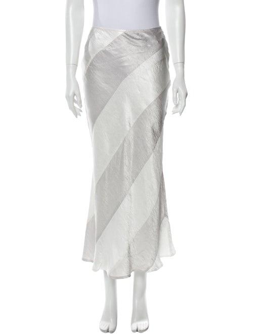 Georgia Alice Long Skirt Silver