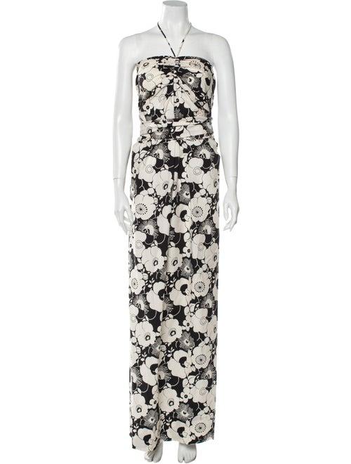 Georgia Alice Floral Print Long Dress w/ Tags