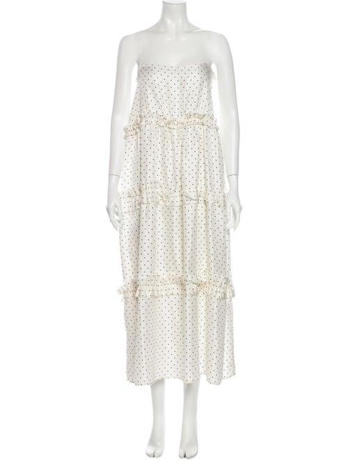 Georgia Alice Silk Midi Length Dress