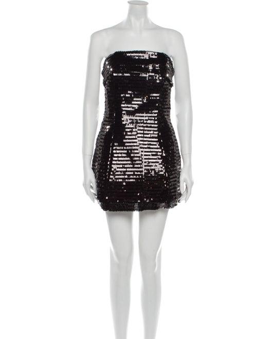 Georgia Alice Strapless Mini Dress w/ Tags Black