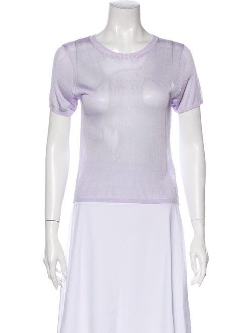 Georgia Alice Scoop Neck Short Sleeve T-Shirt Purp