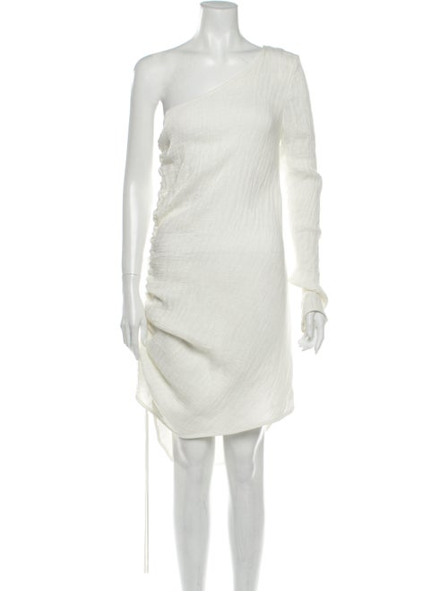 Georgia Alice One-Shoulder Knee-Length Dress w/ Ta