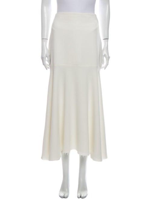 Georgia Alice Midi Length Skirt White