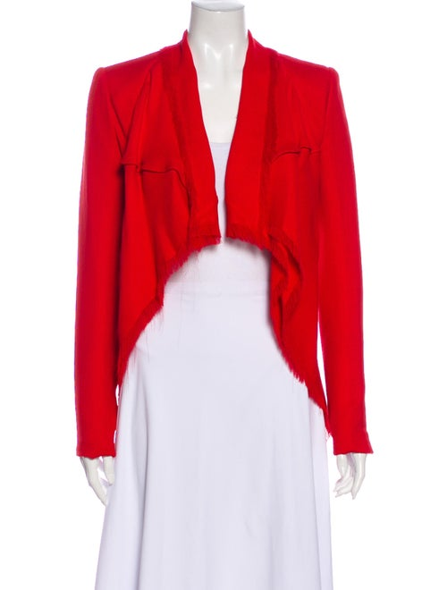 Gareth Pugh Silk Jacket Red