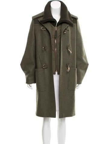Gabriela Hearst Knee-Length Wool Coat None