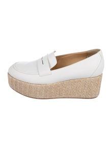 096e804dbc Gabriela Hearst. Leather Platform Loafers