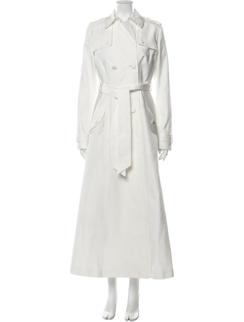 Gabriela Hearst Trench Coat White