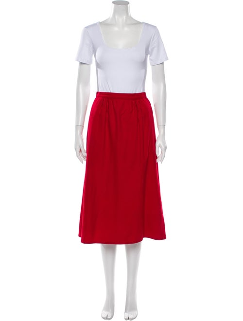 Geoffrey Beene Skirt Set Red