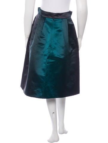 Silk Ombré Skirt