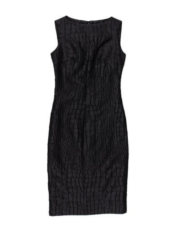 Jacquard Sheath Dress w/ Tags